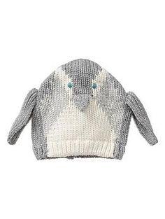 Penguin baby hat