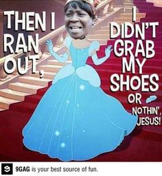 Sweet Brown - ain't nobody got time for that