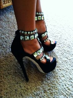 she can get it.... just from her shoe game!