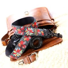 The Sally Designer DSLR Camera Strap with Quick Release by mgcamerastraps