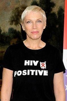 "Annie Lennox   ""HIV Positive"""