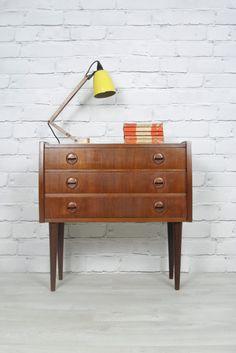 Vinatge 1960s Danish small chest of Drawers/Cabinet.  http://www.ebay.co.uk/itm/RETRO-VINTAGE-DANISH-TEAK-MIDCENTURY-CHEST-DRAWERS-CABINET-BEDSIDE-TABLE-50s-60s-/330685404393?pt=UK_Home_Garden_LivingRoomFurniture_EH=item4cfe62d4e9  https://www.facebook.com/mustardvintage