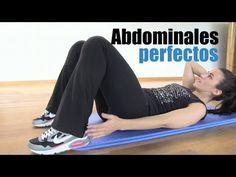 """Abdominales perfectos """"Rutina de abdominales""""."""