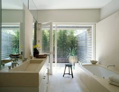 12 bathroom windows that reveal only the view.