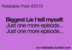 I do this a lot.