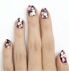 Floral Mani! Love! <3