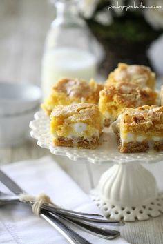 White Chocolate S'mores Cake Bars: 1 box yellow cake mix- 1 large egg ...