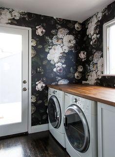 laundry room renovation // sarah sherman samuel