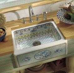 sinks on Pinterest Farmhouse Kitchen Sinks, Country Kitchen Sink and ...