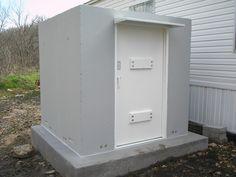 Missouri Storm Shelters | Springfield, Missouri - Above Ground Concrete Shelters