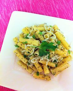 Eat Yourself Skinny!: Mozzarella and Herb Pasta