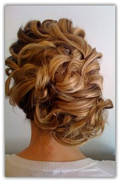 One of the prettiest updo's I have ever seen!