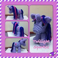 My Little Pony Twilight Sparkle Crochet Amigurumi