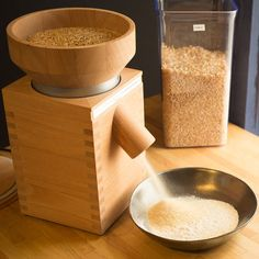 Milling your own grain produces the ultimate fresh flour photo by tim