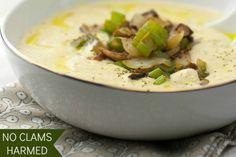 Creamy Vegan Not Clam Chowder [Vegan, Gluten-Free] | One Green Planet