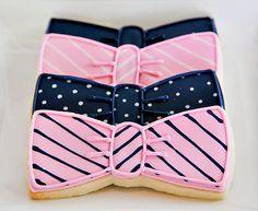 Cute Bow Tie Cookies!