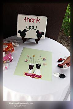 Thumbprint guest book - Disney Wedding at the Swan: Shannon + Tim | Magical Day Weddings | A Wedding Atlas Fan Site for Disney Weddings