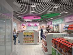 C-store interior – Bashneft by Minale Tattersfield Roadside Retail, via Flickr