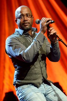 """Snapshot: March 11 - Darius Rucker - Recent GRAMMY winner Darius Rucker revs up his """"Wagon Wheel"""" during a performance at the T.J. Martell Foundation's sixth annual Nashville Honors Gala on March 10 in Nashville, Tenn."""