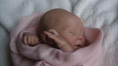 Gorgeous reborn baby girl Kaelin *Sculpted by Denise Pratt* | eBay