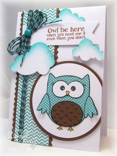 IC373 Owl Be Here by bfinlay - Cards and Paper Crafts at Splitcoaststampers