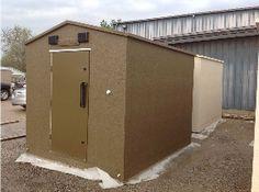 Safe Sheds Above Ground Storm Shelters