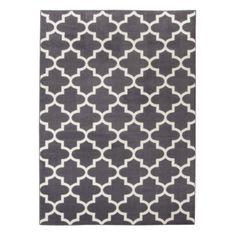 threshold fretwork area rug gray 7 39 x10 39 rugs