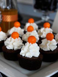 Halloween brownie bites #halloween #party