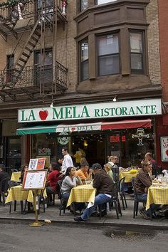 Little Italy, New York City!