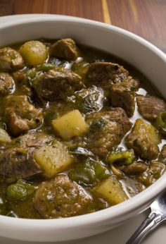 New Mexico Pork and Green Chili Stew