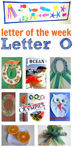 Crafts and Preschool Activities for Letter O