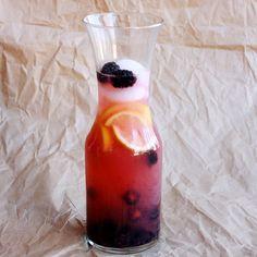 blackberry lemonade, done
