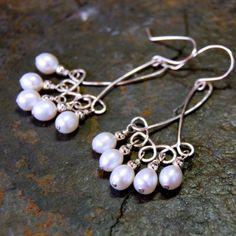 wire jig earrings