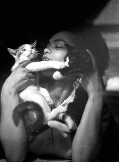 Eartha Kitt photographed by Gordon Parks, June 1952