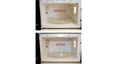 How To Clean and *SHINE* Your Microwave Without Cleaner!