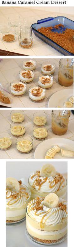 Baked Banana Wontons with Coconut Caramel Sauce | Recipe | Wontons ...