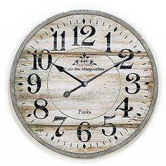 French-inspired clock