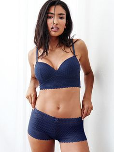 """You can keep it simple AND sexy. This push-up speaks for itself without underwires, hooks or clasps. 