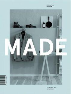 MADE Magazine Cover Design