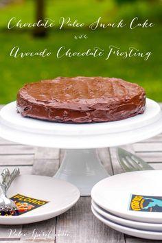 Avocado Chocolate Frosting:: Paleo Spirit