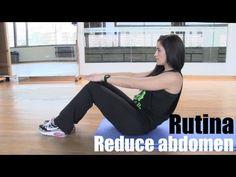 Reduce abdomen: rutina de ejercicios de abdominales.