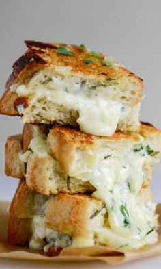White Bean Grilled Cheese Sandwiches with Ancho Chili Cheese Spread ...