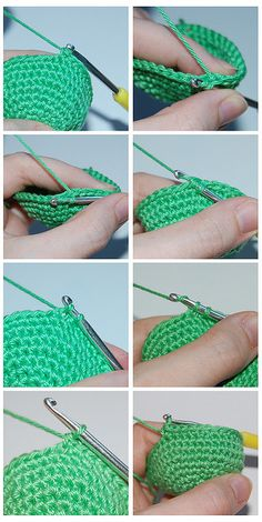 Invisible Increases and Decreases Crochet - Tutorial ❥ 4U // hf