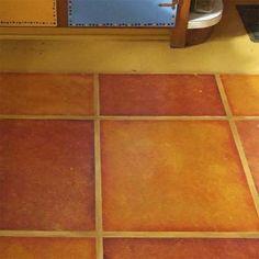 Diy Faux Painted Tile Floor Painted Tiles Tile And Floors