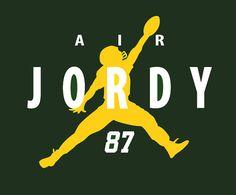 Air Jordy! Green Bay Packers Jordy Nelson TShirt by CharmCityGear <3