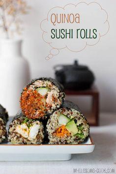 Quinoa Sushi Rolls best  quinoa recipes