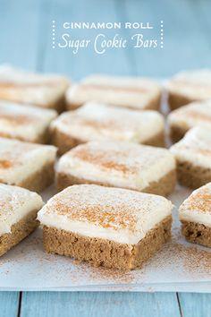 Cinnamon Roll Cookie Bars...tastes just like a Cinnabon! | Sweet Stuff ...