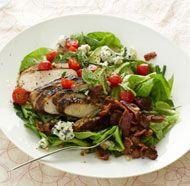 Arugula Salad with Nectarines & Fresh Raspberry Vinaigrette | Recipe ...