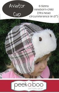 Keep your little lady warm all winter in a stylish fur trim hat and ...