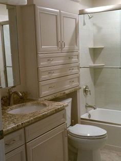 Love lots of storage, and drawers!Bathroom Over The Toliet Storage Design, Pictures, Remodel, Decor and Ideas - page 6